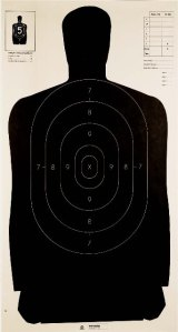 police-target-paper